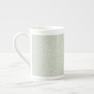 Pale Green Elegance Tea Mug