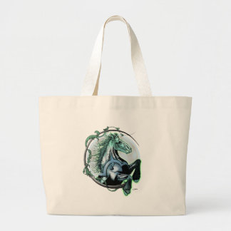 Pale Horse Tote Bags
