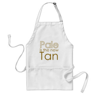 Pale is the New Tan Standard Apron