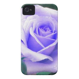 Pale Lavender Rose iPhone 4 case