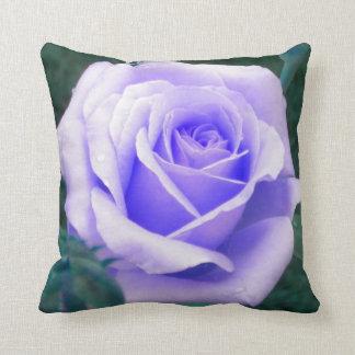 Pale Lavender Rose Throw Pillow Cushion