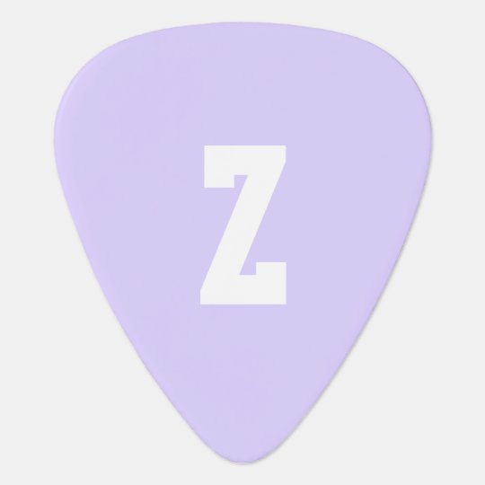 Pale Lavender Stylish Complementary Colour Guitar Pick