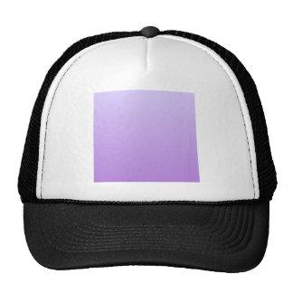 Pale Lavender to Lavender Horizontal Gradient Hats