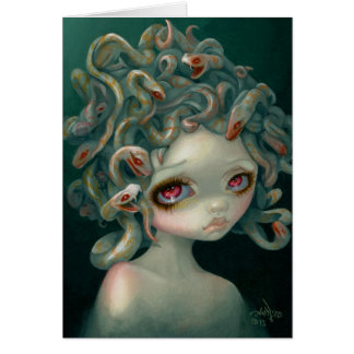 """Pale Medusa"" Greeting Card"