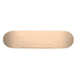 Pale Peach Angelskin Coral Pastel in Summer Gazebo Skateboard Deck