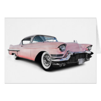Pale Pink Cadillac Card