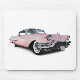 Pale Pink Cadillac Mouse Pad