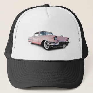 Pale Pink Cadillac Trucker Hat