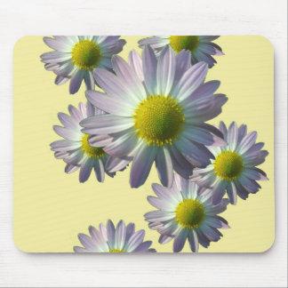 Pale Pink Chrysanthemum Design Mousepad