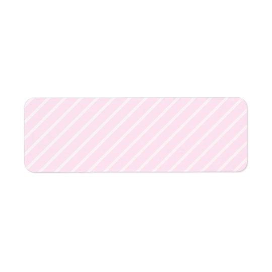 Pale pink Diagonal Stripes.