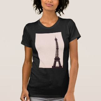pale pink Eiffel Tower T-Shirt