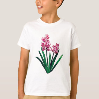 Pale Pink Hyacinth Kids T-Shirts