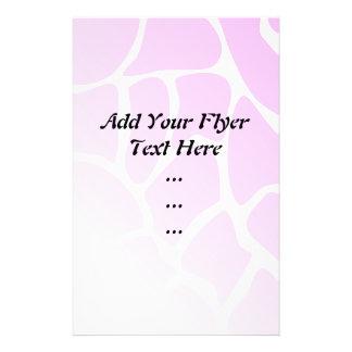 Pale Pink Pattern. 14 Cm X 21.5 Cm Flyer
