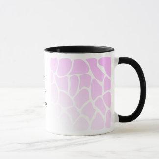 Pale Pink Pattern. Mug