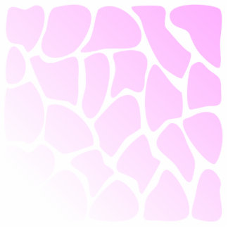 Pale Pink Pattern. Acrylic Cut Out