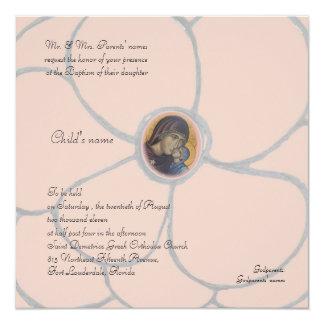 Pale Pink Petals Custom Invitation