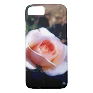 Pale Pink Rose iPhone 7 Case