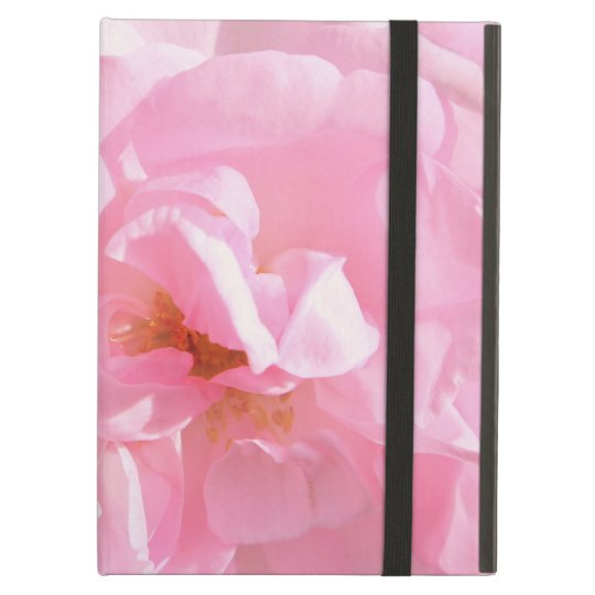 pale pink rose petals iPad air case