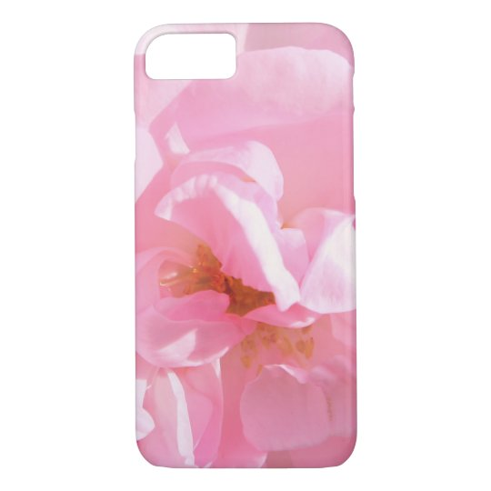 pale pink rose petals iPhone 8/7 case