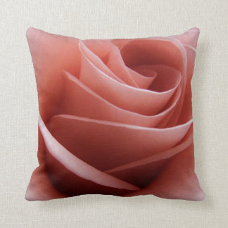 Pale Pink Rose Pillow