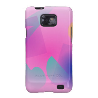 Pale Pink Simple Abstract Composition Galaxy S2 Cases