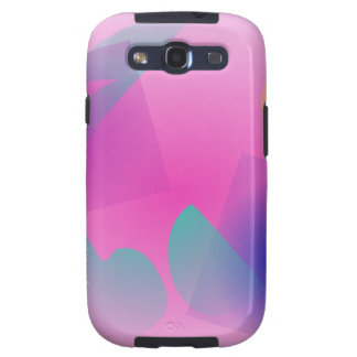 Pale Pink Simple Abstract Composition Galaxy S3 Cover