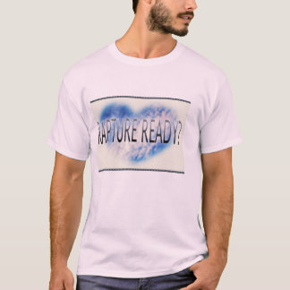 pale pink t shirt with rapture writing