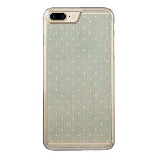 Pale Polka Dot Slim Maple iPhone 6/6s Plus Carved iPhone 8 Plus/7 Plus Case