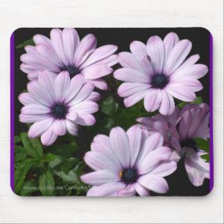 """Pale Purple Daisies"" Mouse Pad"