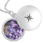Pale Purple Hyacinth Lockets