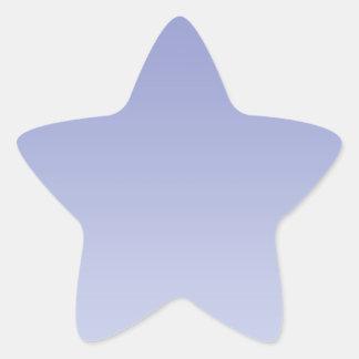 Pale Purple Ombre Star Sticker