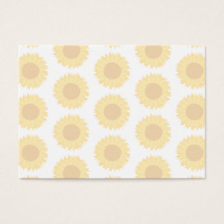 Pale Sunflower Background Pattern.