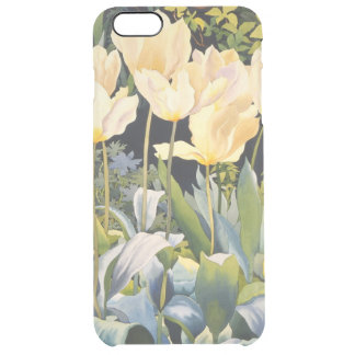 Pale Tulips Clear iPhone 6 Plus Case