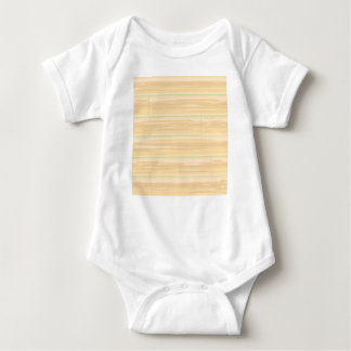 Pale Wood Background Baby Bodysuit