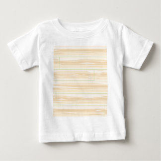 Pale Wood Background Baby T-Shirt