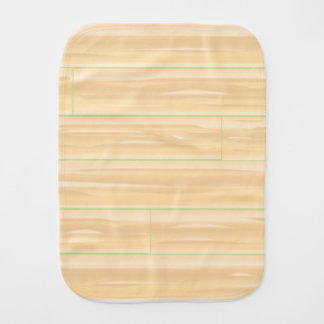 Pale Wood Background Burp Cloth