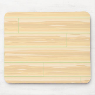 Pale Wood Background Mouse Pad