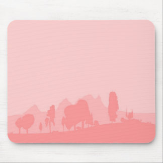 Pale Wooded Foreground Mouse Pad
