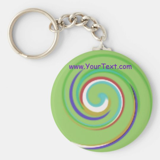 Palebow ~ customisable! basic round button key ring