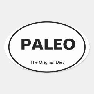 PALEO car sticker