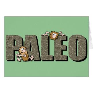 Paleo Cavemen Card
