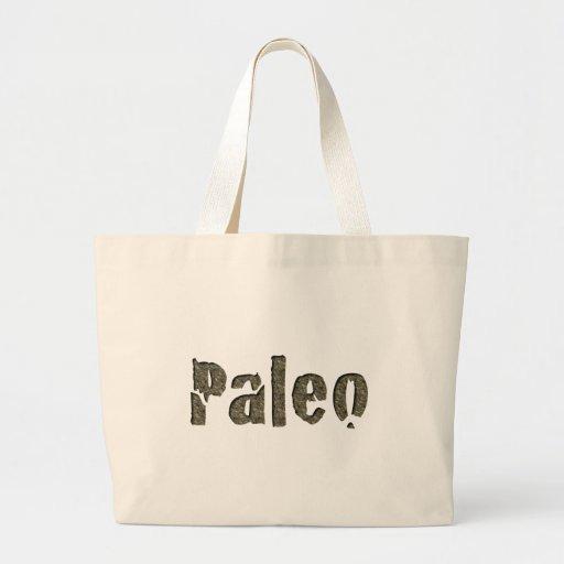 Paleo in Stone Canvas Bag