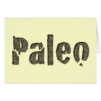 Paleo in Stone Card