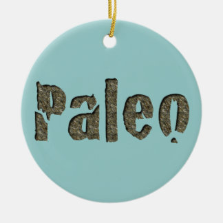 Paleo in Stone Christmas Ornament