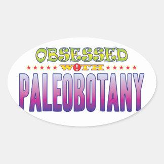 Paleobotany 2 Obsessed Oval Sticker