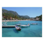 Paleokastritsa Beach, Corfu Print