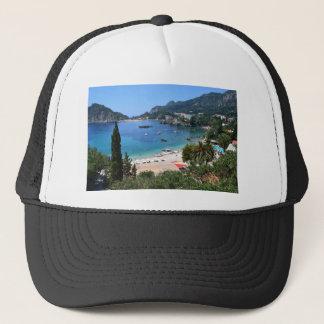 Paleokastritsa Greece Trucker Hat