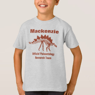 Paleontology Dinosaur Fun Tshirt
