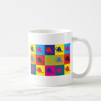 Paleontology Pop Art Coffee Mug