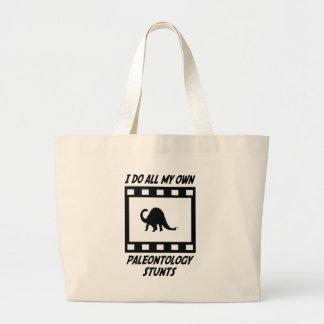 Paleontology Stunts Canvas Bags
